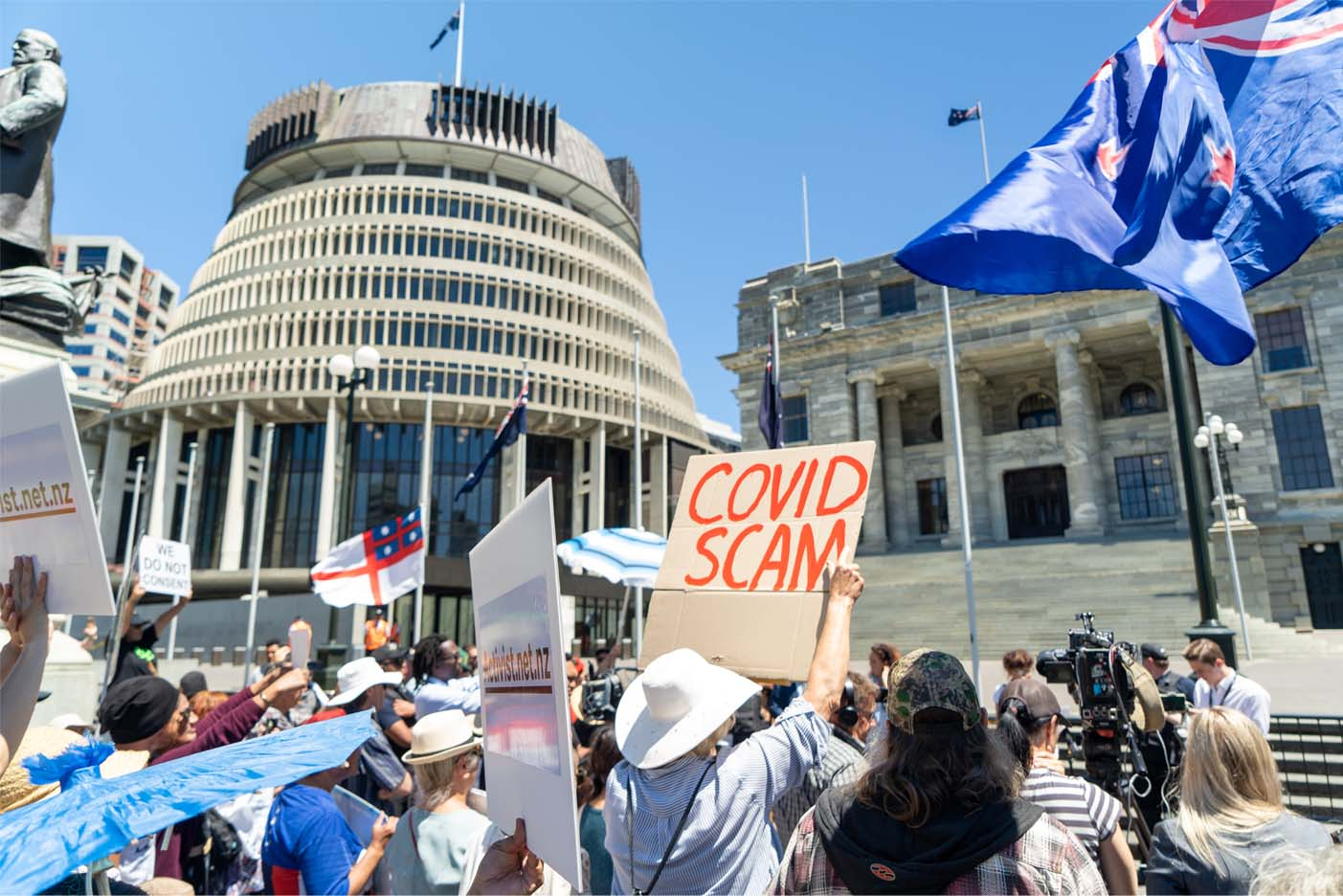 Wellington Protest - Contact Us Page 2